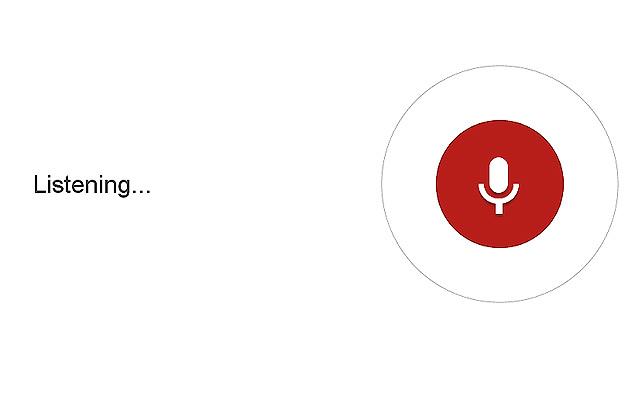 Google Chrome Pesquisa por Voz