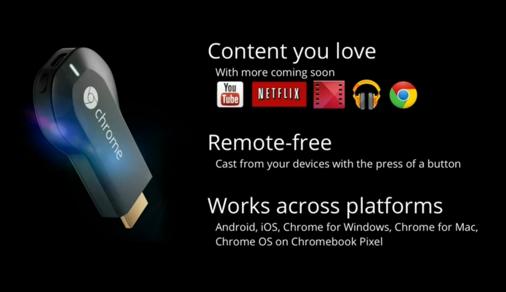 Google Chrome - Chromecast